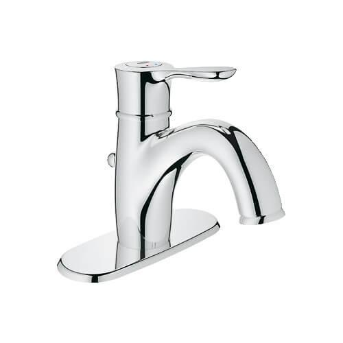 grohe parkfield centerset bathroom faucet w escutcheon