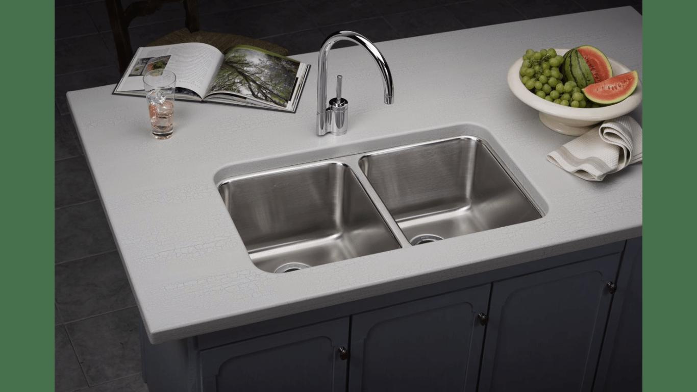 Elkay Gourmet Equal Double Bowl Undermount Sink 3034 x
