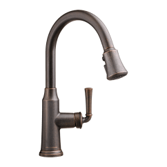 American Standard Kitchen Faucet Black Trash Bags Portsmouth 1 Handle Pull Down High Arc