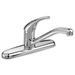 American Standard Kitchen Faucets Parts Tall Faucet Colony Soft 1 Handle