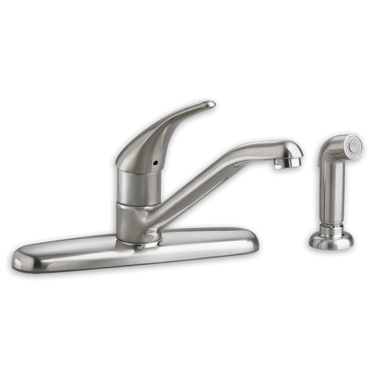 american standard kitchen faucet sears remodel colony soft 1 handle with