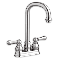 American Standard Kitchen Faucets Parts Unfinished Oak Cabinets Home Depot Hampton 2 Handle High Arc Bar Sink