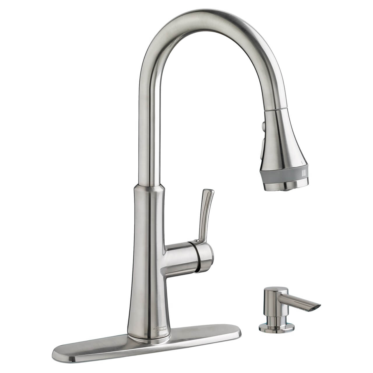 american standard kitchen faucet redoing cabinets huntley pull down with