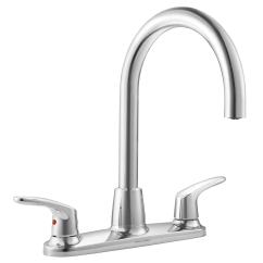 Professional Kitchen Faucet 32 Inch Undermount Sink American Standard Colony Pro Two Handle