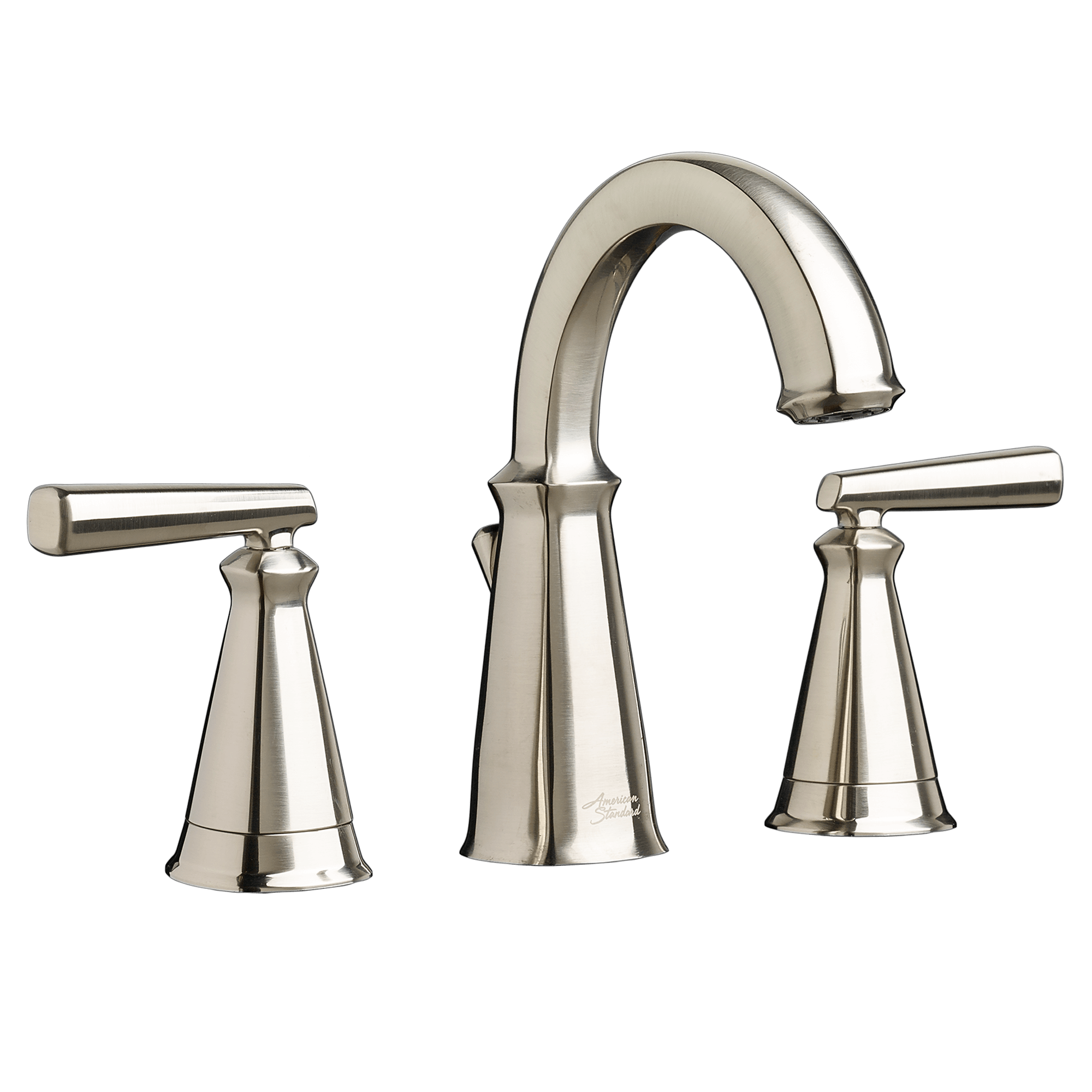 widespread kitchen faucet cabinets for less reviews american standard kirkdale 8 quot bathroom sink