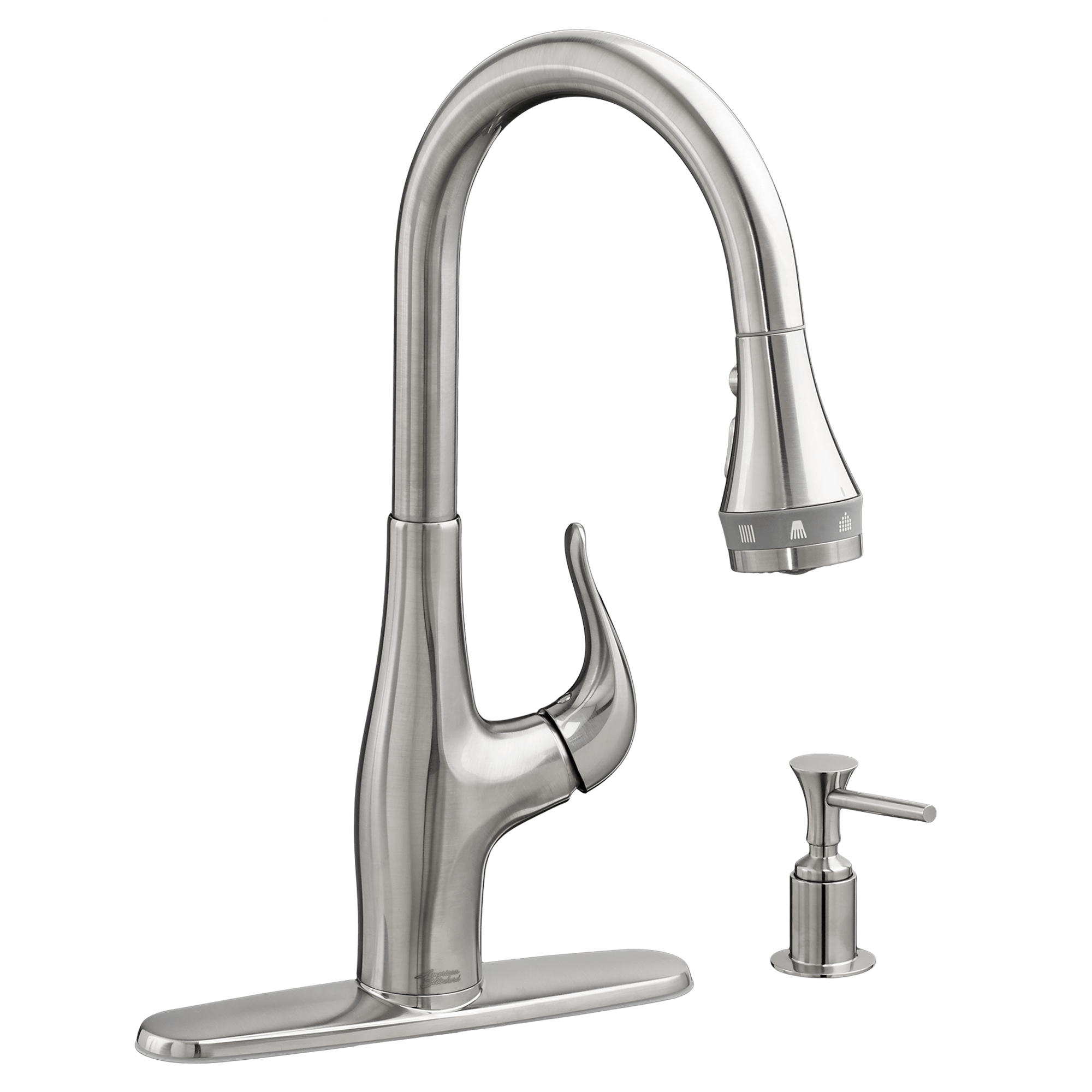 american standard kitchen faucet base cabinets with drawers xavier selectflo pull down