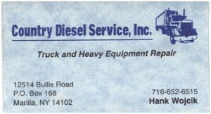 Country Diesel Service is a sponsor of the ATA Shoots at Allied Sportsmen Club