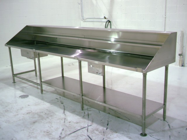 Stainless Commercial Work Table  Allied StainlessAllied