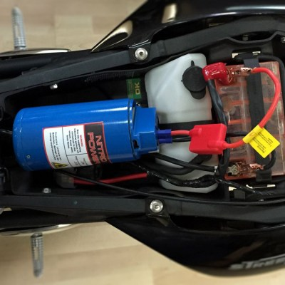 Allied Powersports Nitrous Power Jump Starter and USB Power Supply Mounted 02
