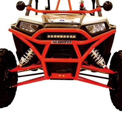 Allied Powersports Dragonfire RacePace Front Bash Bumper for Polaris RZR 02