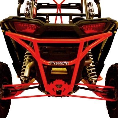 Allied Powersports Dragonfire RacePace Rear Smash Bumper for Polaris RZR 03