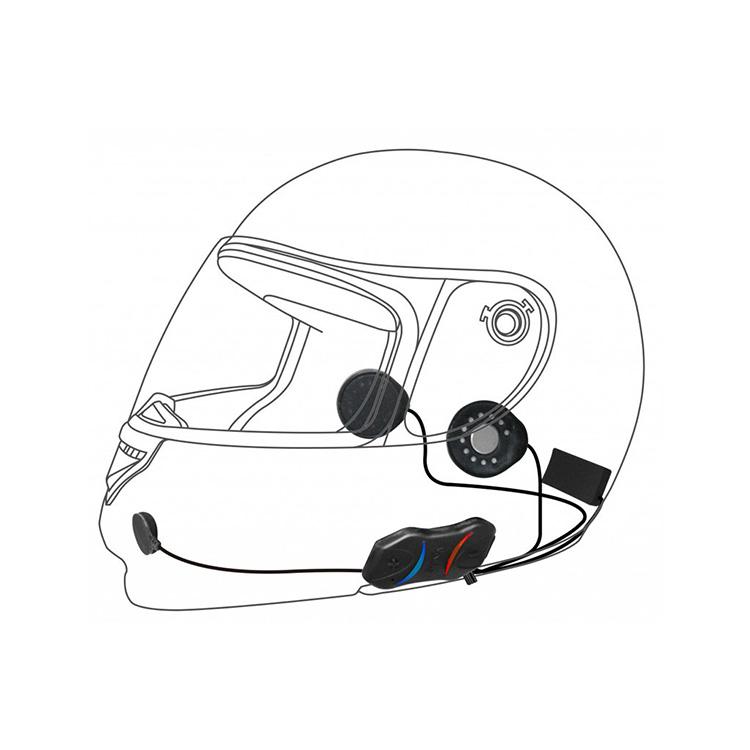 SENA SMH10R Low Profile Bluetooth Headset and Intercom