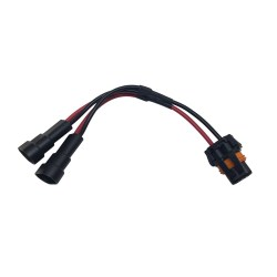 TRIGGER ACS 12 Gauge Short Y Harness   Allied Powersports