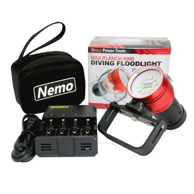 Allied Powersports - Nemo Power Tools Max Planck 6000 Diving Floodlight - Hero