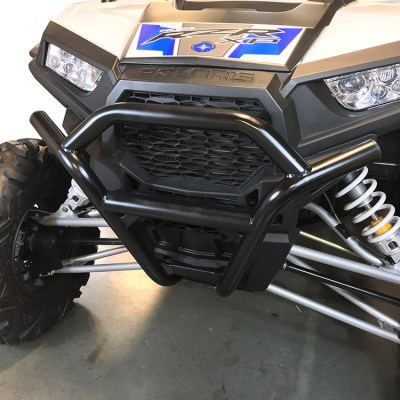 1003-BK Polaris RZR Front Bumper by Allied Powersports-Solid