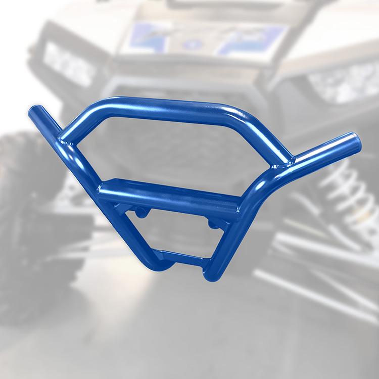 Velocity Blue Allied Powersports Steel Front Bumper for Polaris RZR 1003-BU