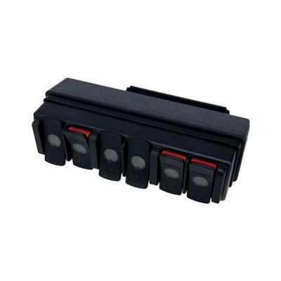 TRIGGER SIX SHOOTER Jeep JL Overhead RF Remote Bracket 02 | Allied Powersports