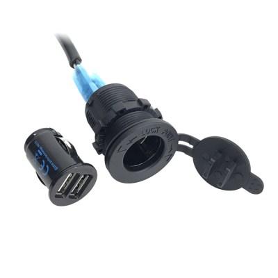 12 Volt USB Power Harness Closeup