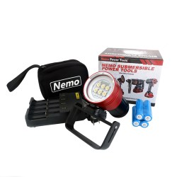 Nemo Power Tools Max Planck 8000 Diving Floodlight Complete