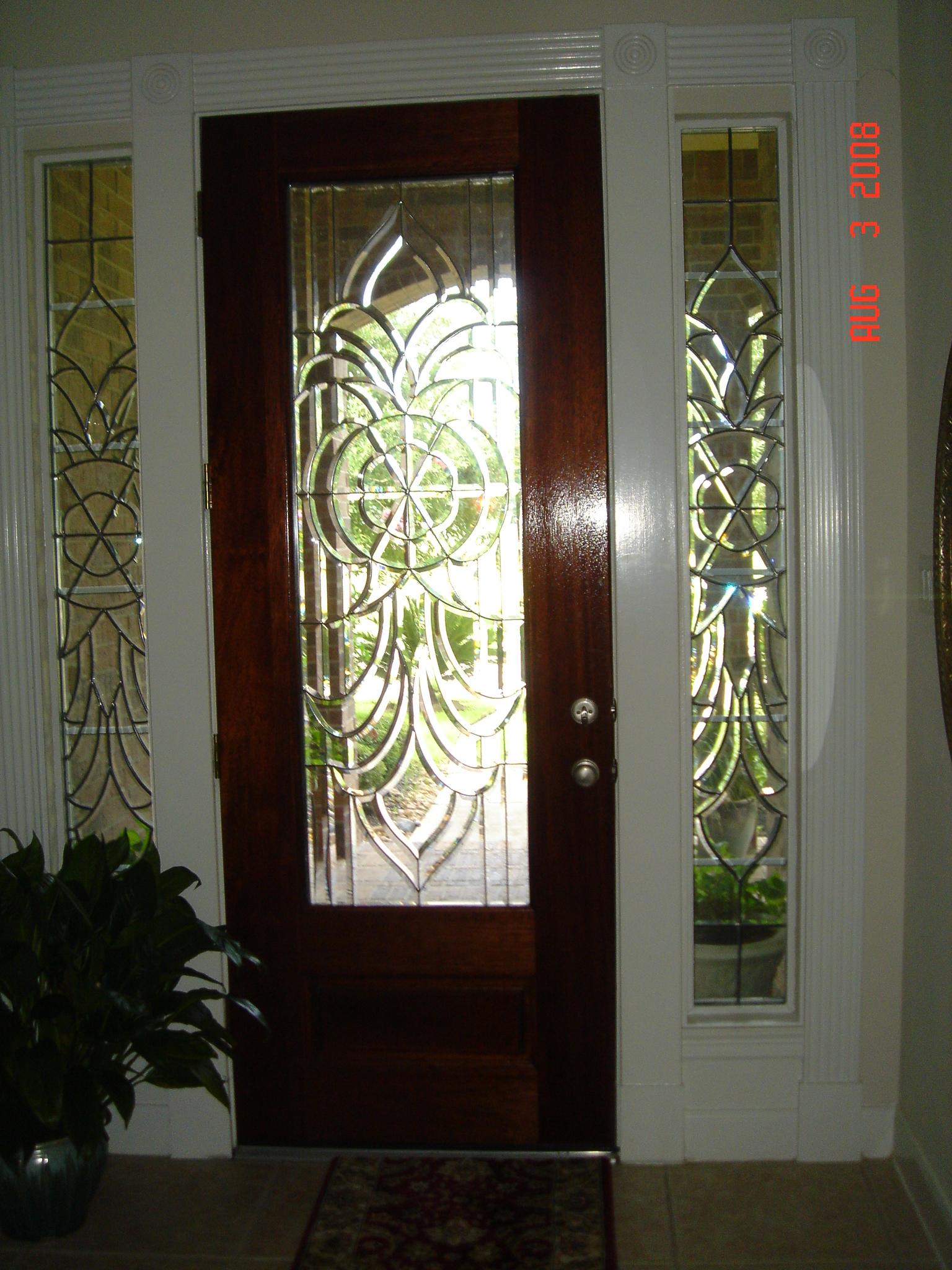 Bevel Side Windows for Front Door