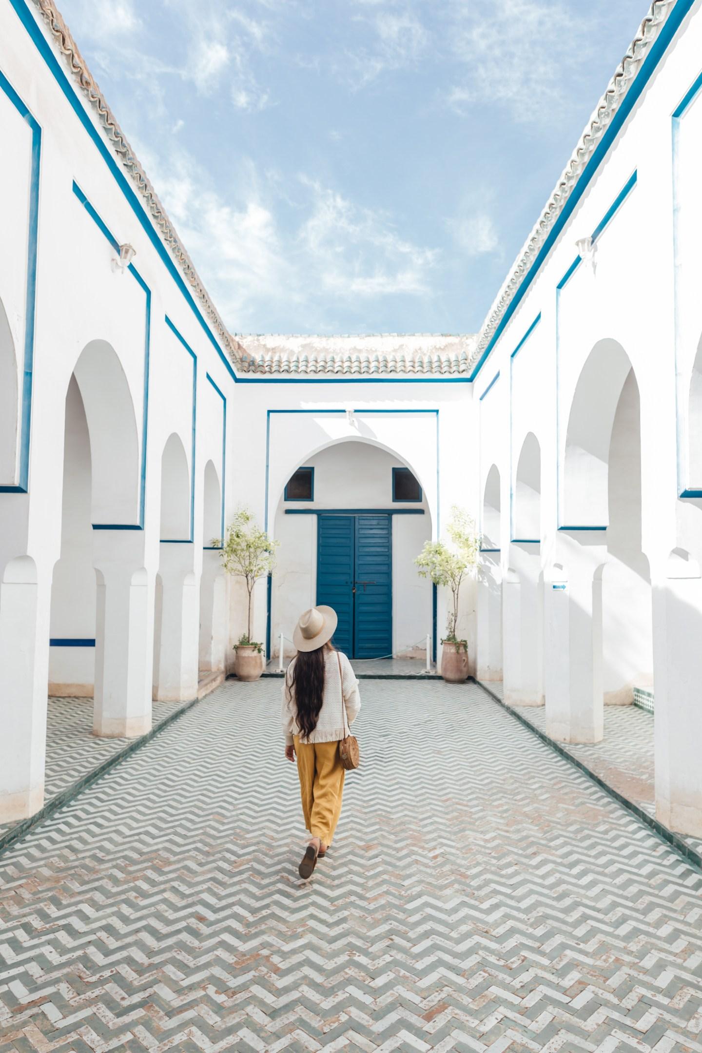Exploring La Bahia Palace, Marrakech
