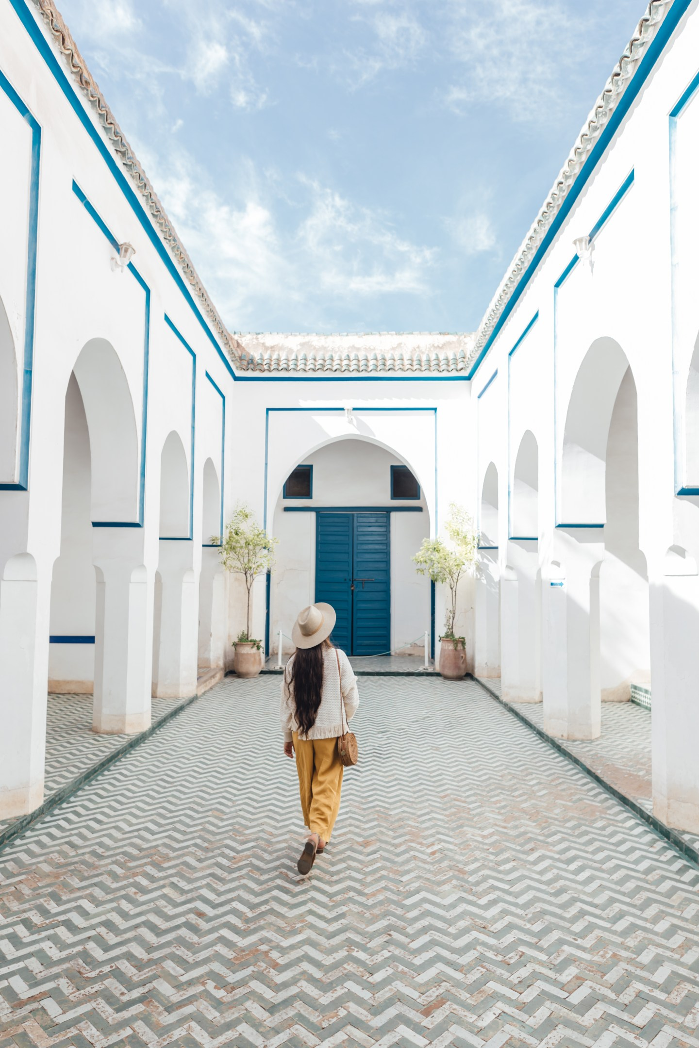 Exploring La Bahia Palace, Marrakech