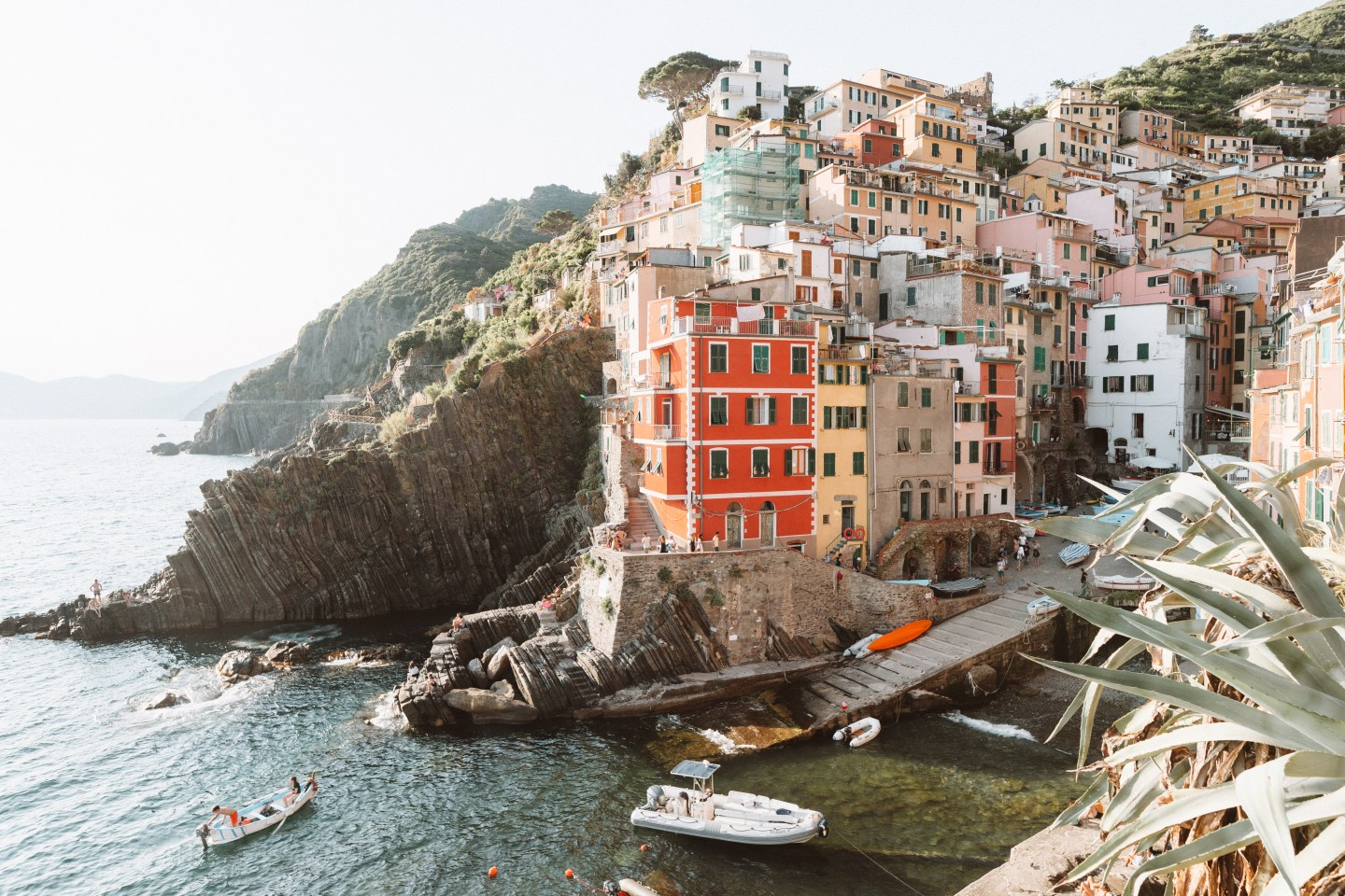 Colorful buildings of Riomaggiore