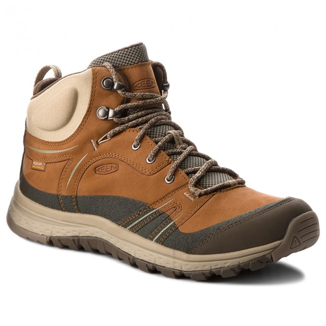Keen Brown Leather Hiking Boots