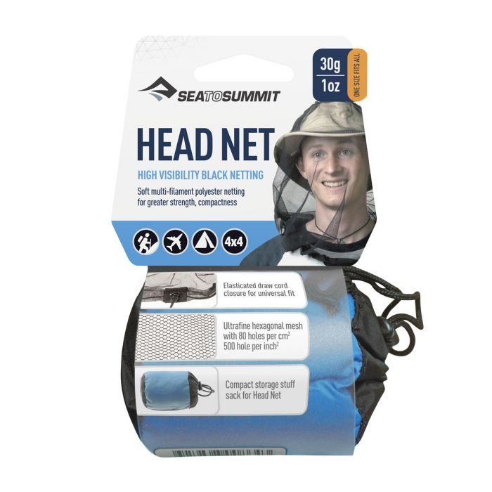 Blue bug headnet - Sea to Summit