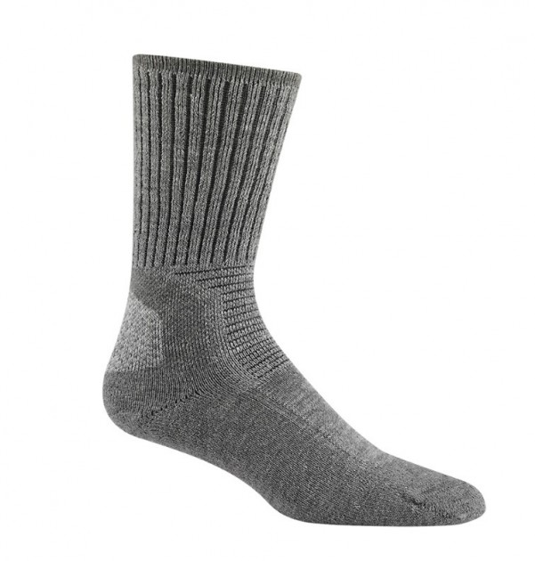 Merino Wool Grey Hiking Socks