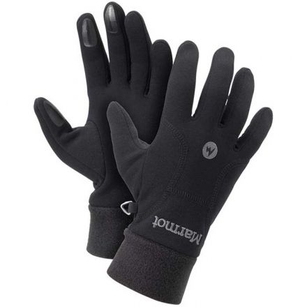 Marmot Black Fleece Gloves