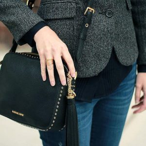A throwback featuring my MichaelKors studded crossbody instastyle nycblogger nycstyle