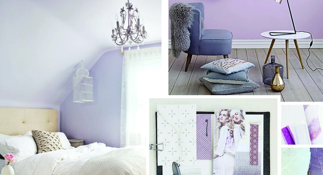 Gray, Violet and Mauve—And a Little Inspiration for My Future Abode