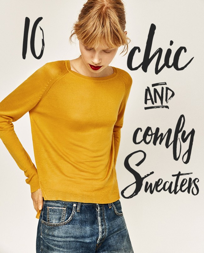Baby it's cold outside! Time to bundle up and layer on the woolens. And what says comfort more then a soft, long sleeved sweater