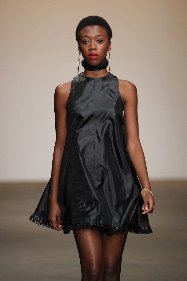 """The last group to walk for Nolcha's One's To Watch"""" show was the Stevenson University Showcase"""