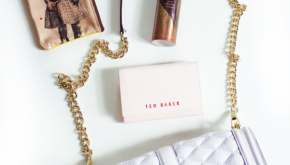 A Rebecca Minkoff cross body and Ted Baker wallet in lavender and pink, bring on summer!