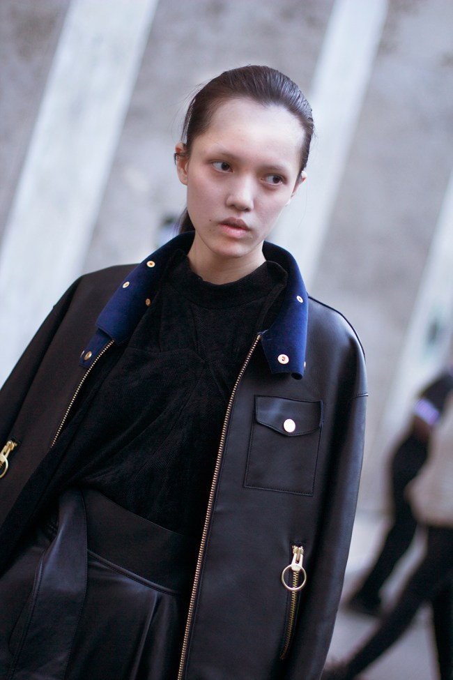 As promised here is the last installment of my Paris street style from PFW