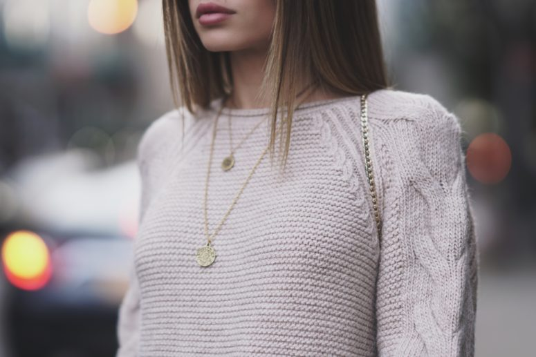 The Gold Medallion Necklace Trend