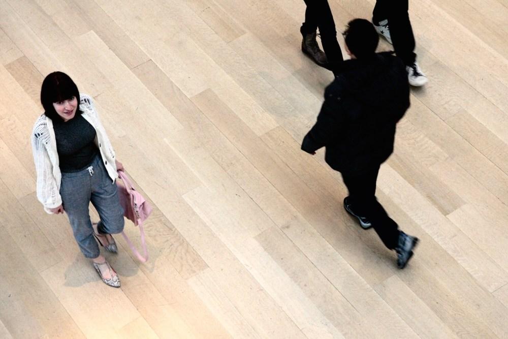Allison Izu Denim Sweats Art Institute Chicago