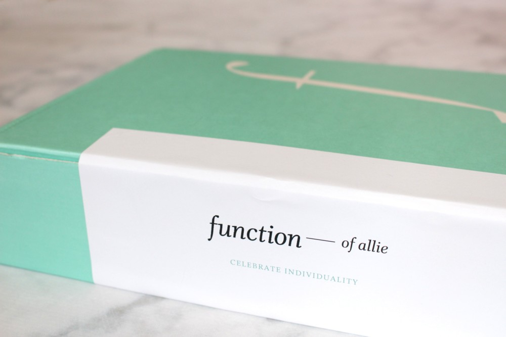 Giveaway: Function of Beauty Custom Shampoo