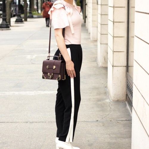 Channel Your Sporty Side with Chic Track Pants
