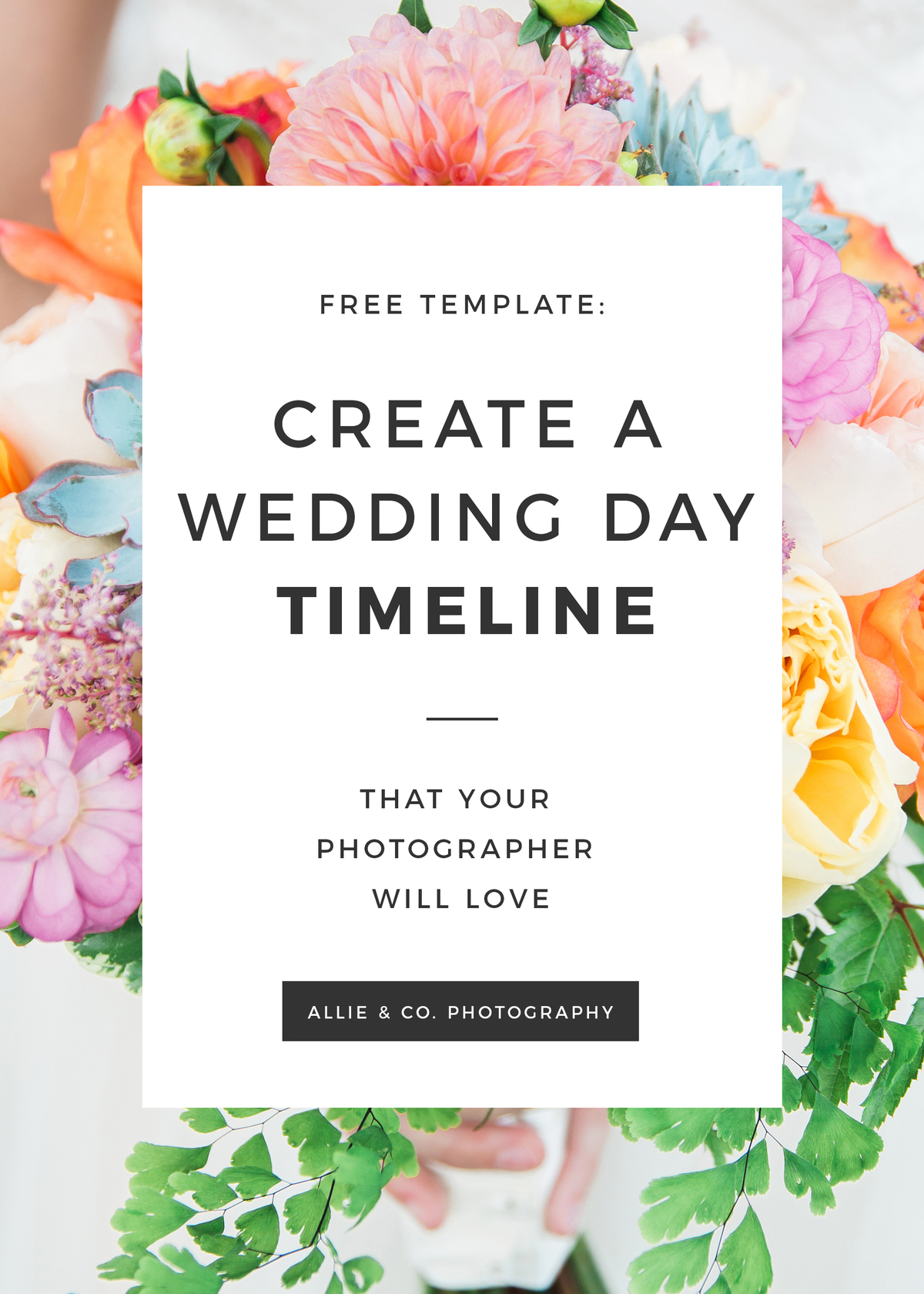 How To Create A Wedding Day Timeline Plus 8 Sample