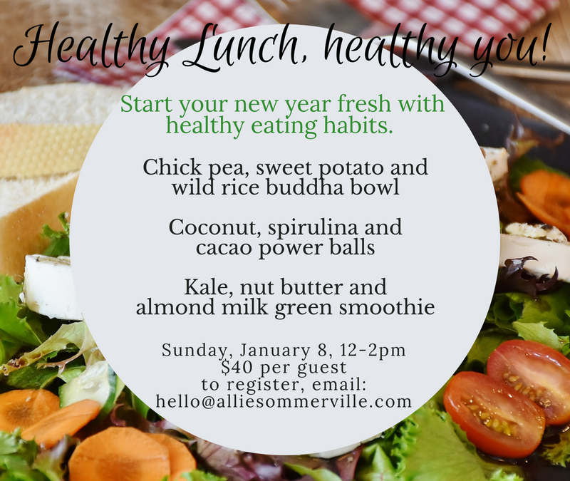 Healthy lunches, healthy you!