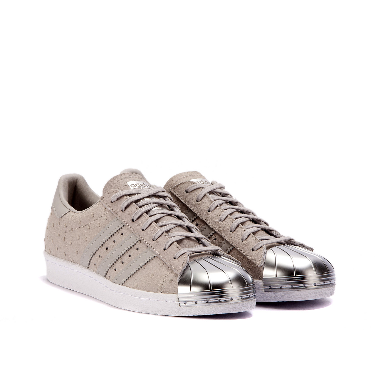 "adidas Superstar 80s W ""Metal Toe"" (Grey) S76711"
