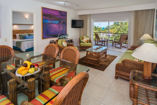 Beachscape Kin Ha Villas and Suites living room