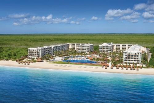 Dreams Riviera Cancun aerial view