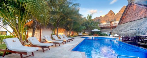 El Dorado Maroma pool by Bar 24