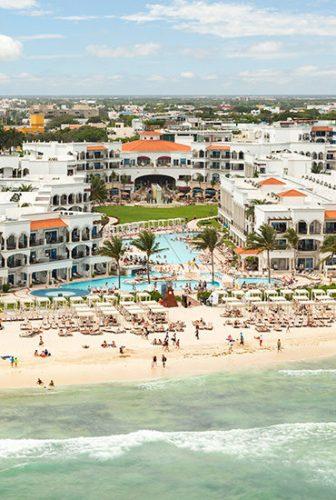 THE Royal Playa del Carmen aerial view
