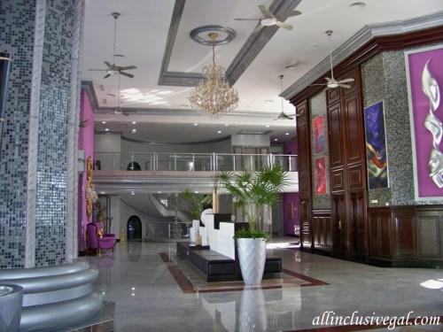 Riu Palace Mexico lobby area