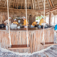Secrets Maroma beach bar